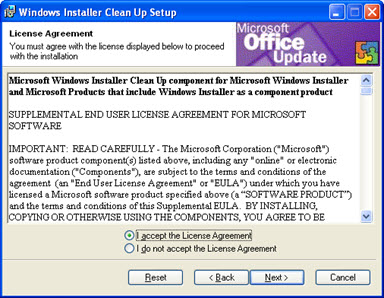 How to Install the Microsoft Installer CleanUp Utility