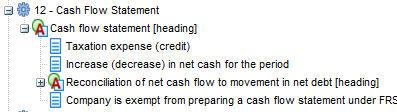 interest expense on cash flow statement